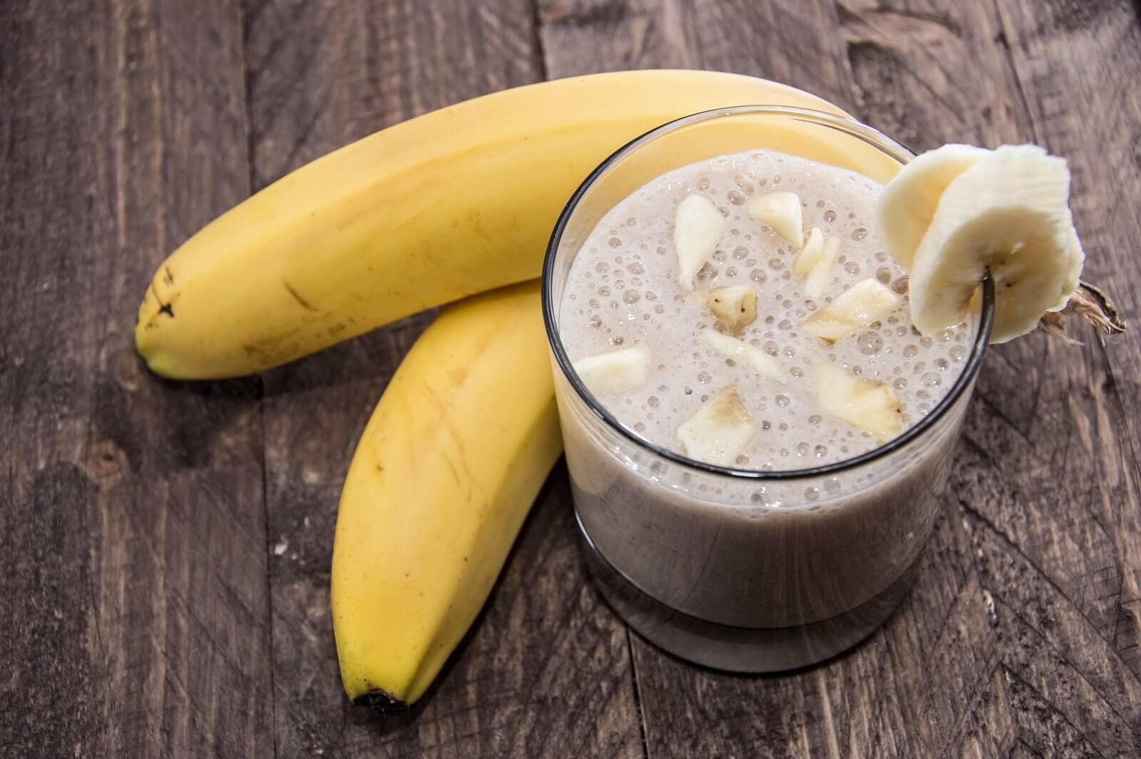 Как из банана сделать сок