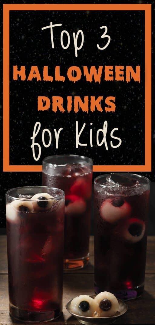 Top 3 Halloween Drinks for Kids