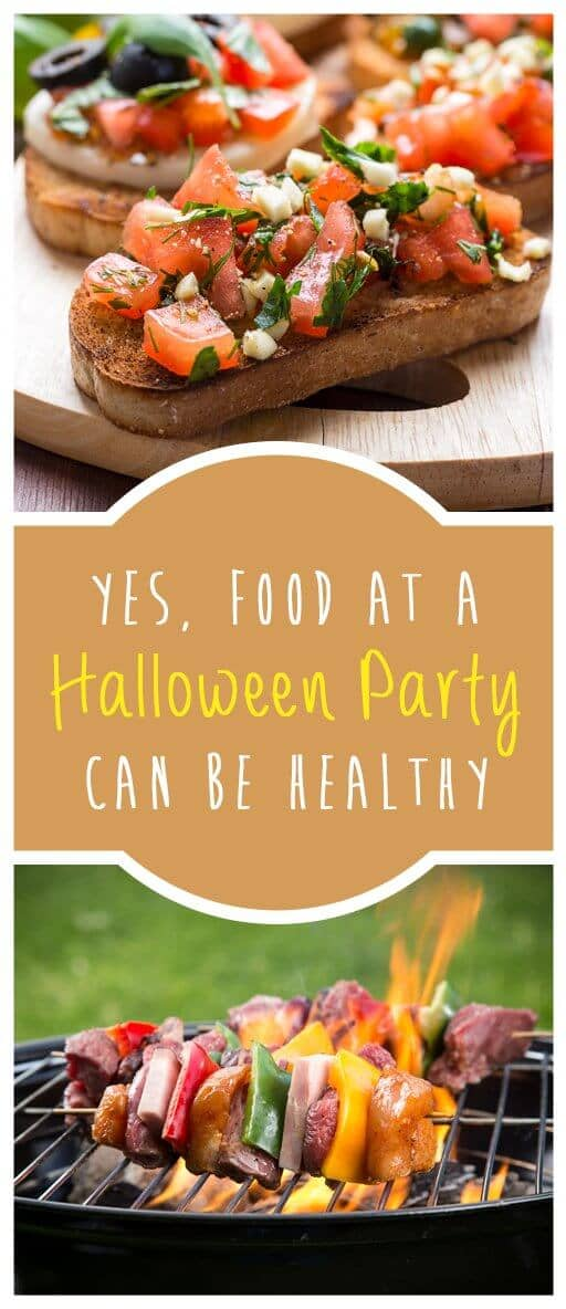 Yes, Food At A Halloween Party Can Be Healthy