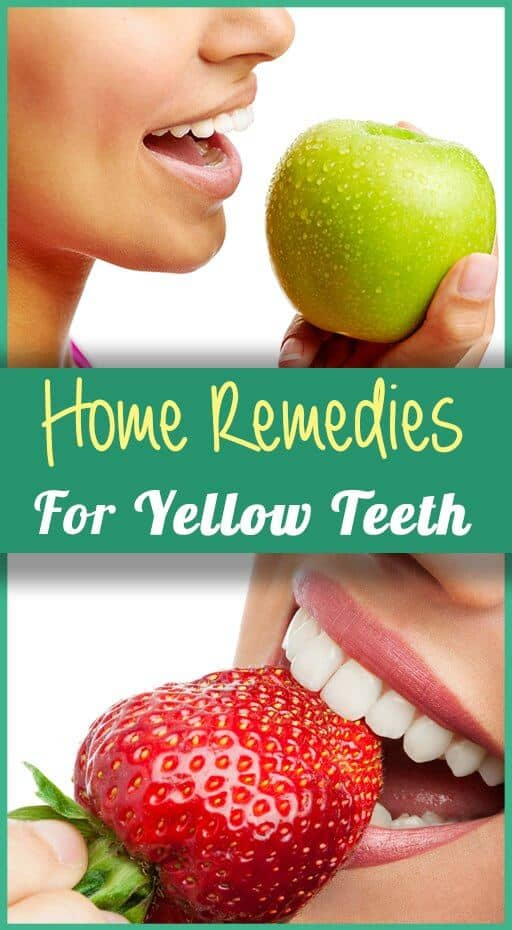 9 Home Remedies For Yellow Teeth That Really Work
