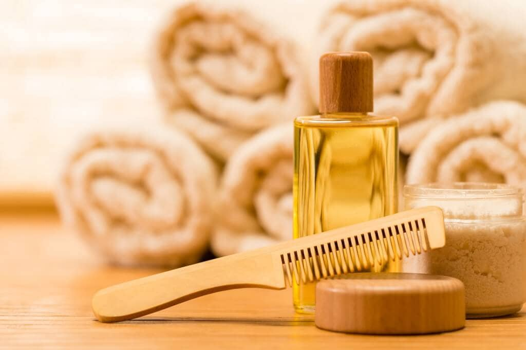 Oil Massage to prevent hair fall