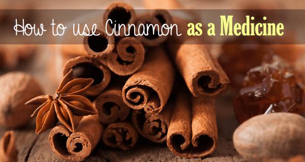 cinnamon as a medicine