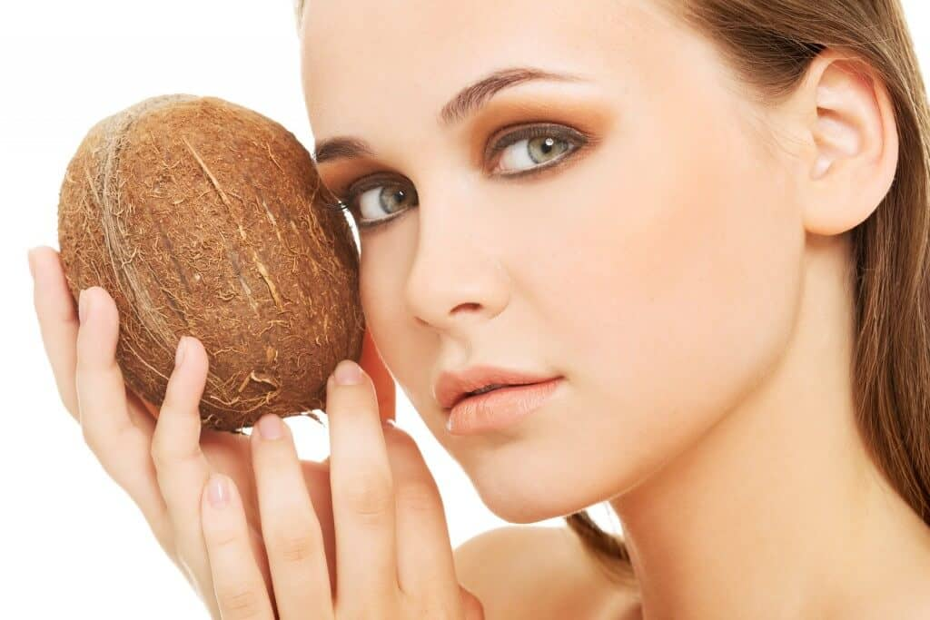 coconut oil for irritated skin.