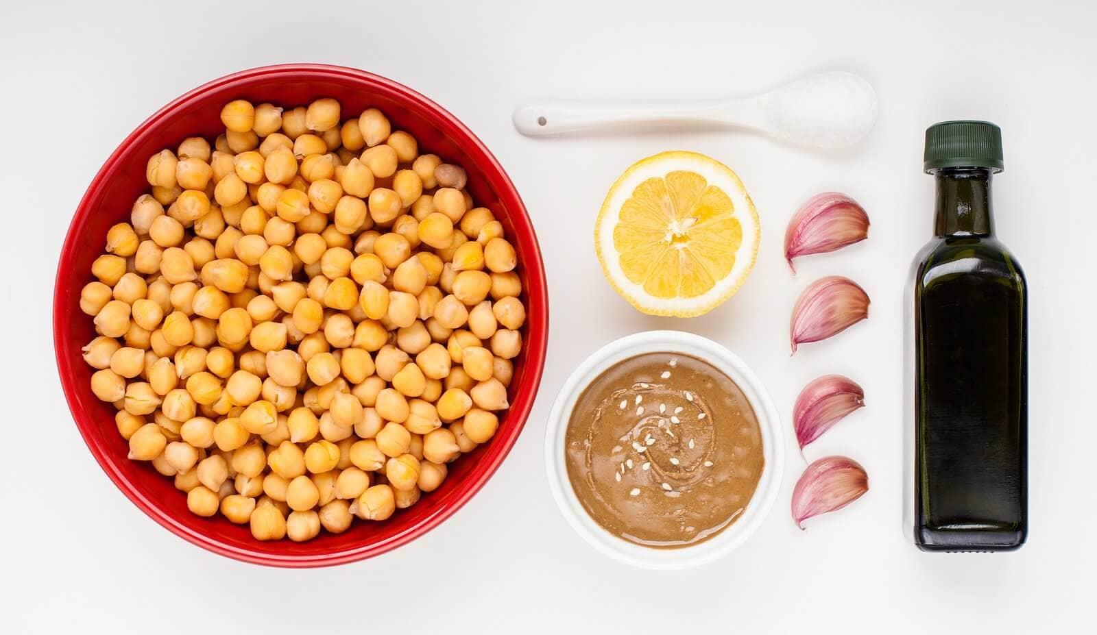 Приготовление Хумуса из Нута в Домашних Условиях 17