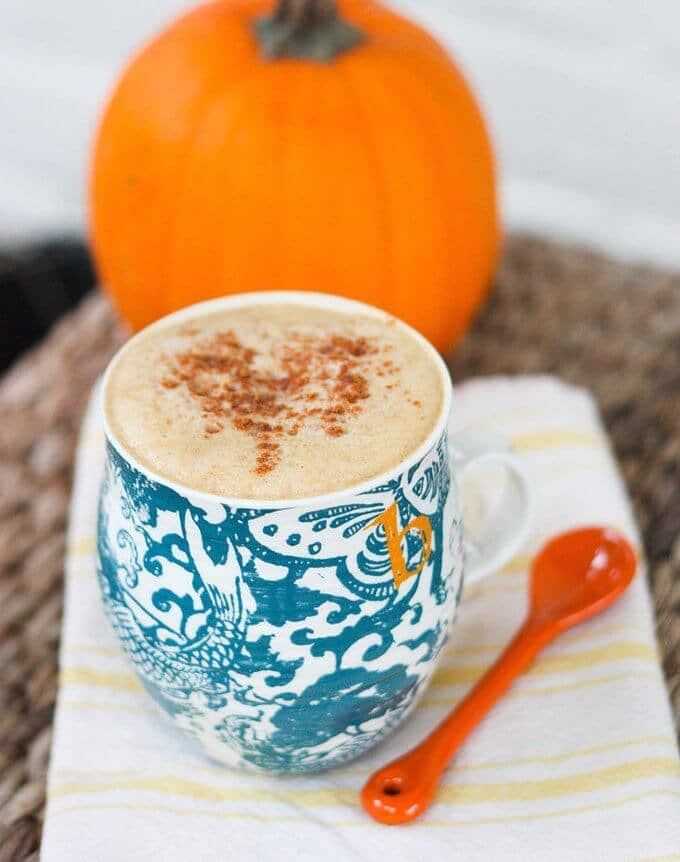 Healthy Pumpkin Latte