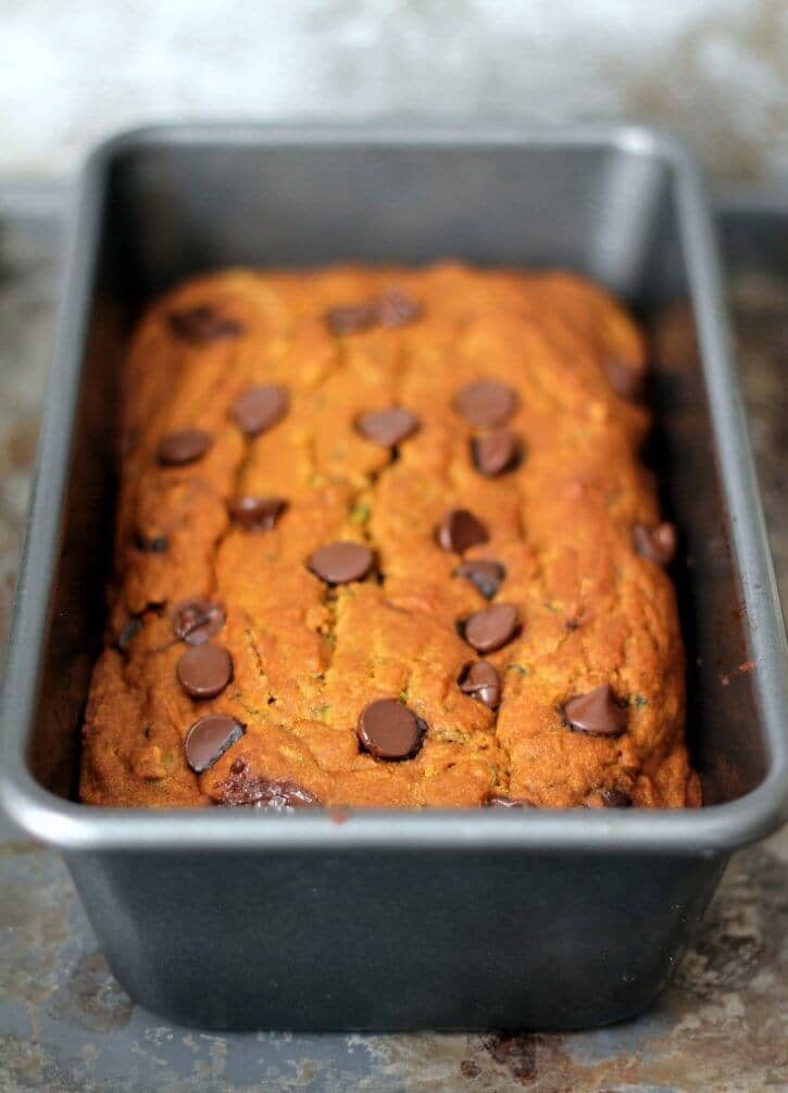 healthy Zucchini pumpkin Bread