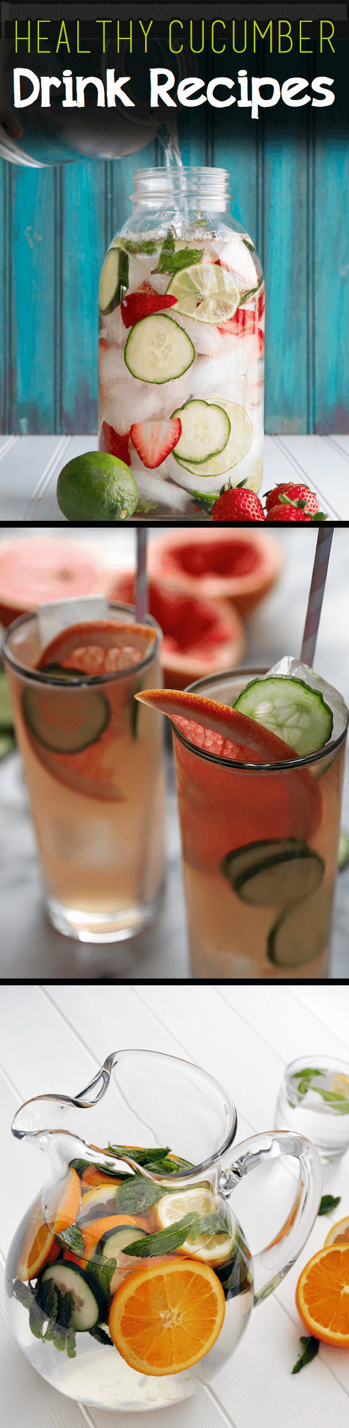 19 Mouth-Watering, Yet Healthy Cucumber Drink Recipes