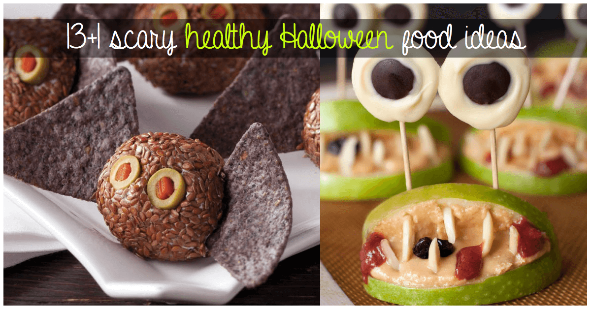 healthy food ideas - Halloween Healthy Food