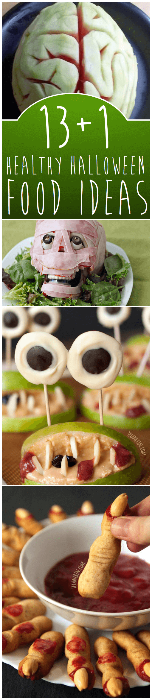 13+1 Scary DIY Halloween Food Ideas - And All Of These Are Healthy!
