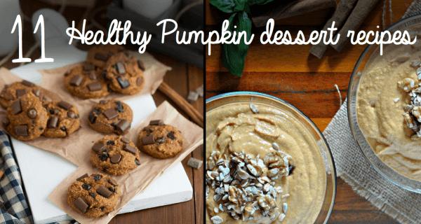 healthy pumpkin dessert
