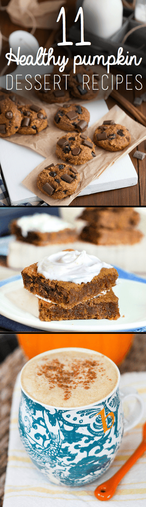11 Healthy Pumpkin Dessert Recipes