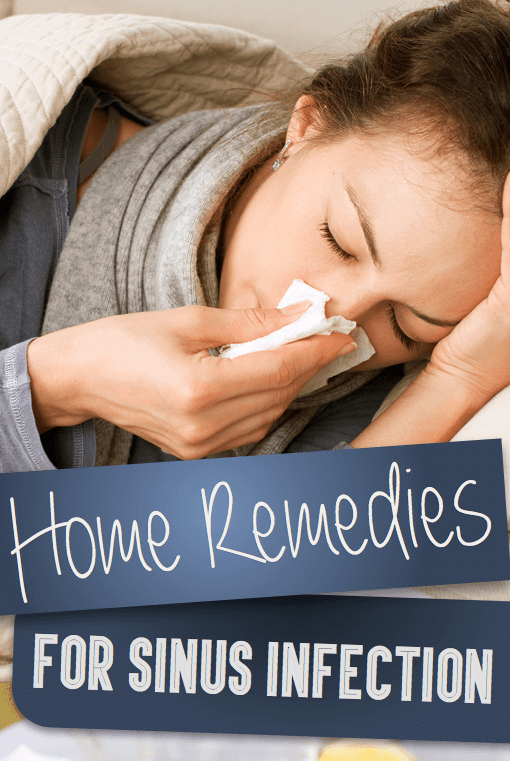 5 Home Remedies For Sinus Infection