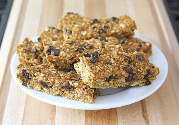 homemade pumpkin granola bars