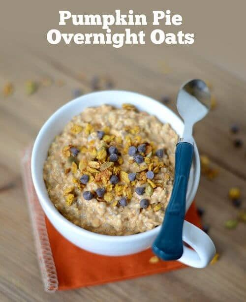 recipe healthy pumpkin pie oats