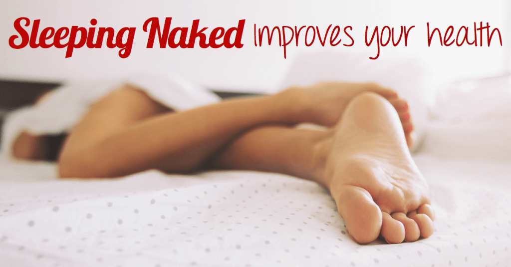 sleeping naked