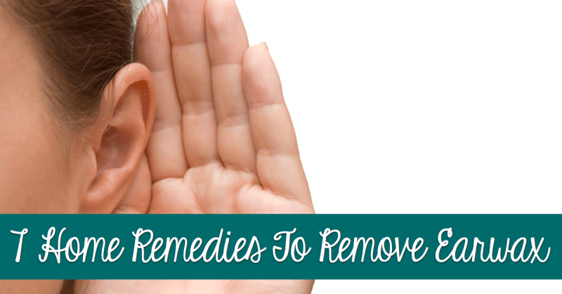 7 Home Remedies To Remove Earwax