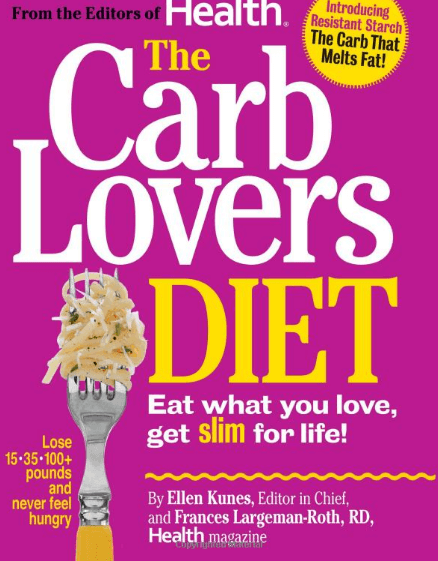 CarbLovers dietbook