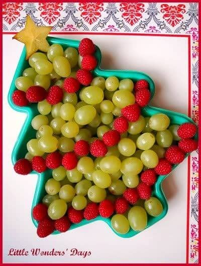 Healthy Christmas Preschool Party Snack
