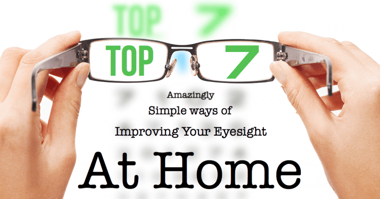 Improving Your Eyesight At Home