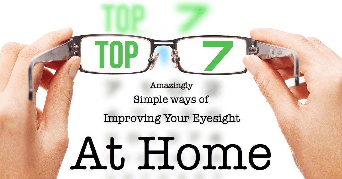 home remedies for improving eyesight