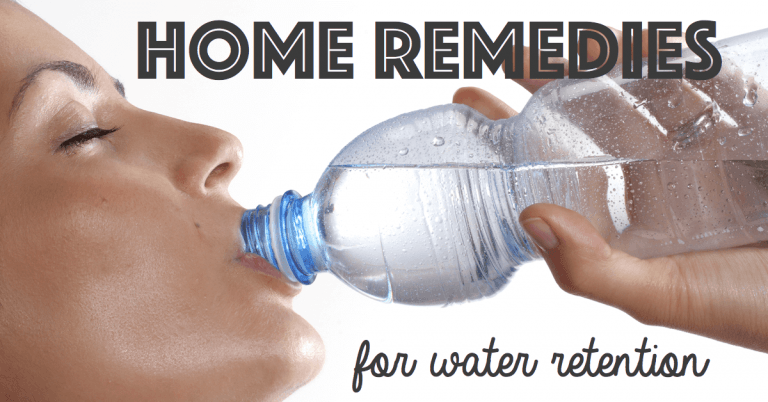 10 Effective Home Remedies For Water Retention