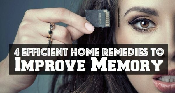 4 Efficient Home Remedies to Improve Memory