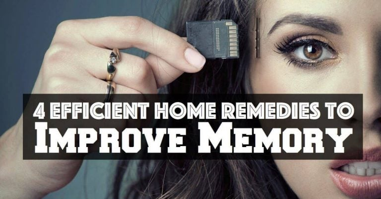 Efficient Home Remedies To Improve Memory