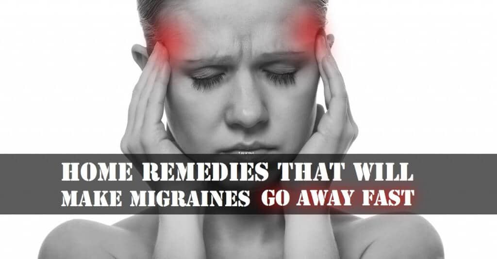 4 Home Remedies That Will Make Migraines Go Away Fast