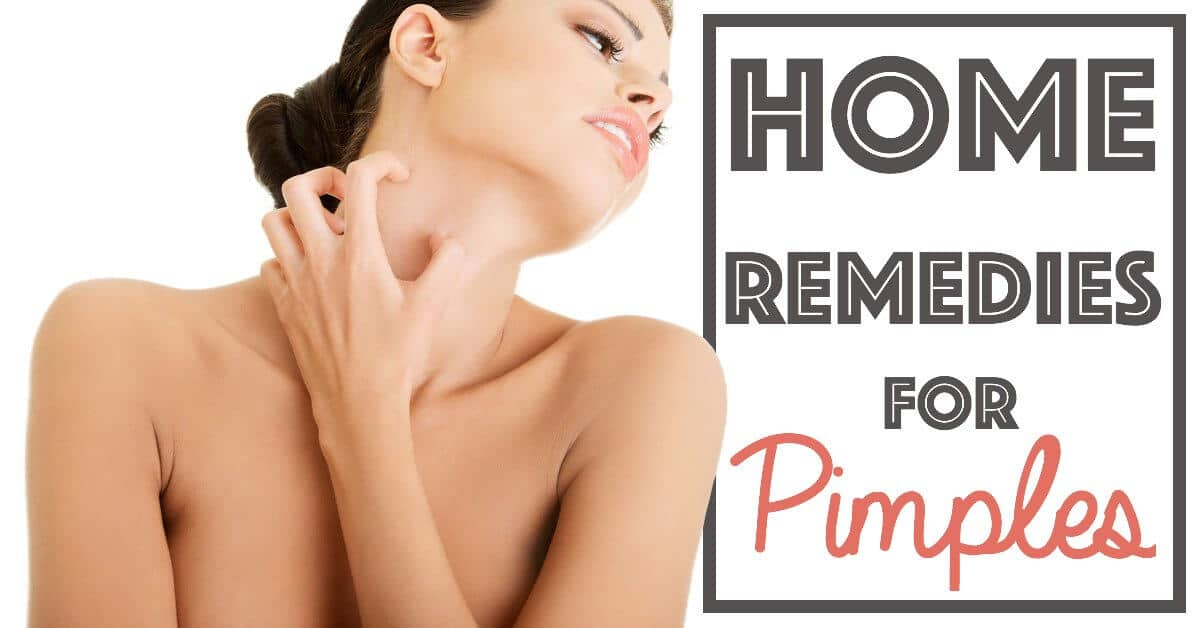 Home Remedies For Pimples On Face And Neck