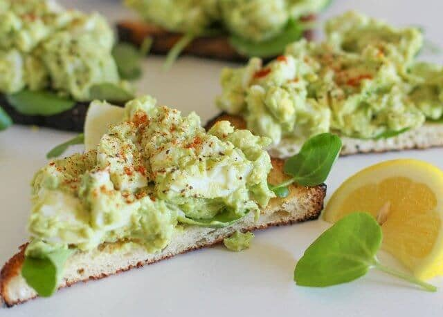 Avocado Egg Salad Without Mayo