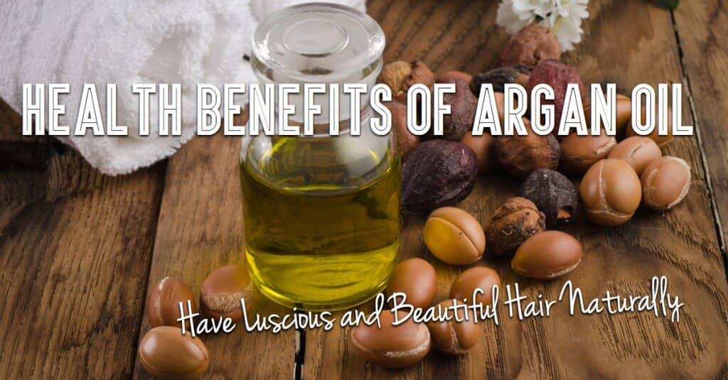 argan oil for hair benefits