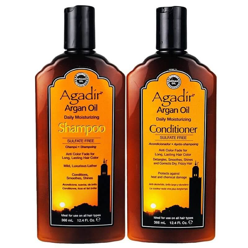 Agadir Argan Oil Daily Shampoo and Conditioner Set