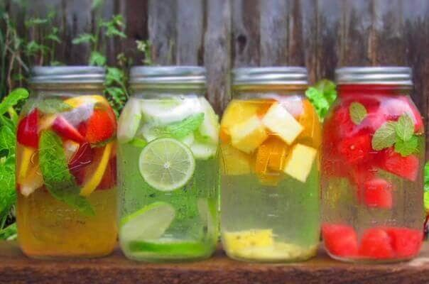 Detox water is also known as fruit infused water, infused water, or fruit-flavored water. Making it at home is easy, fast, and tastier, cheaper and better for you than anything in the store. The basic detox water recipe consists of half a gallon or two liters of purified or distilled water, some thinly-sliced fruit or vegetables (see.