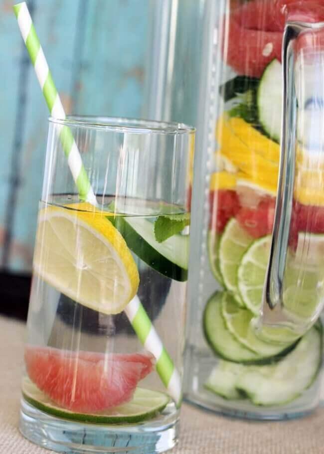 Slim Down Detox Wasser