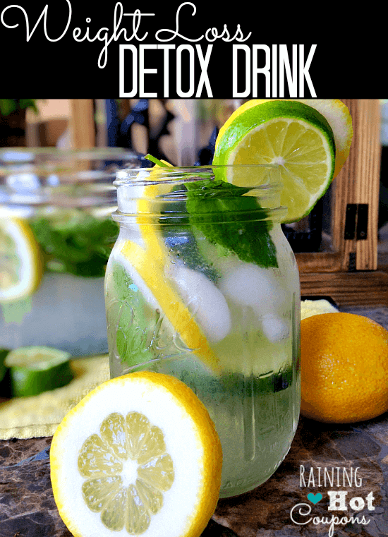 Morning Lemon & Mint Detox Water is simple, pretty, and a great way to wake-up and get your day off to a cleansing start.