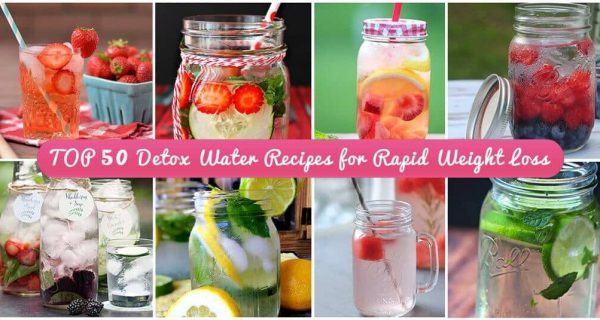 50 detox drinks for rapid weight loss