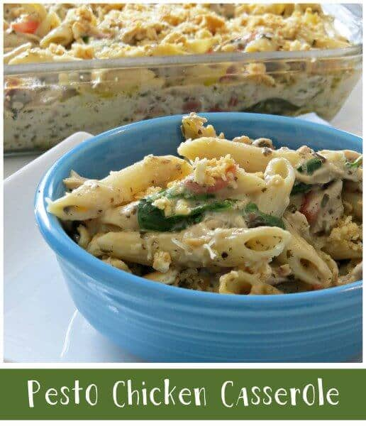 Pesto Chicken Casserole