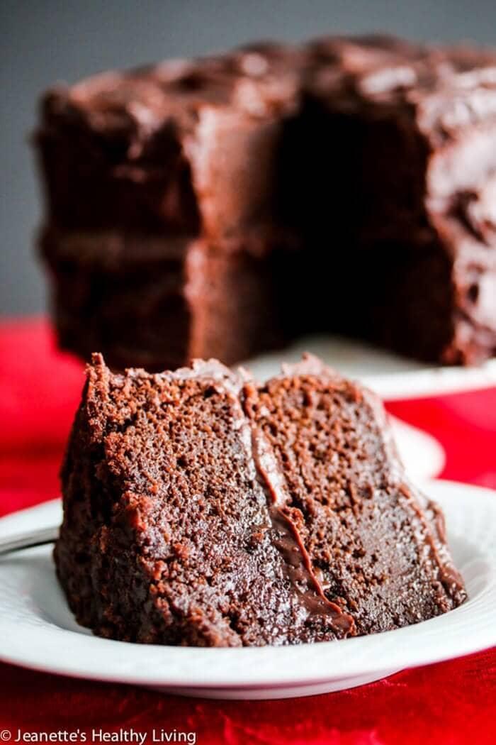 """Gluten-Free Hershey's """"Perfectly Chocolate"""" Chocolate Cake"""