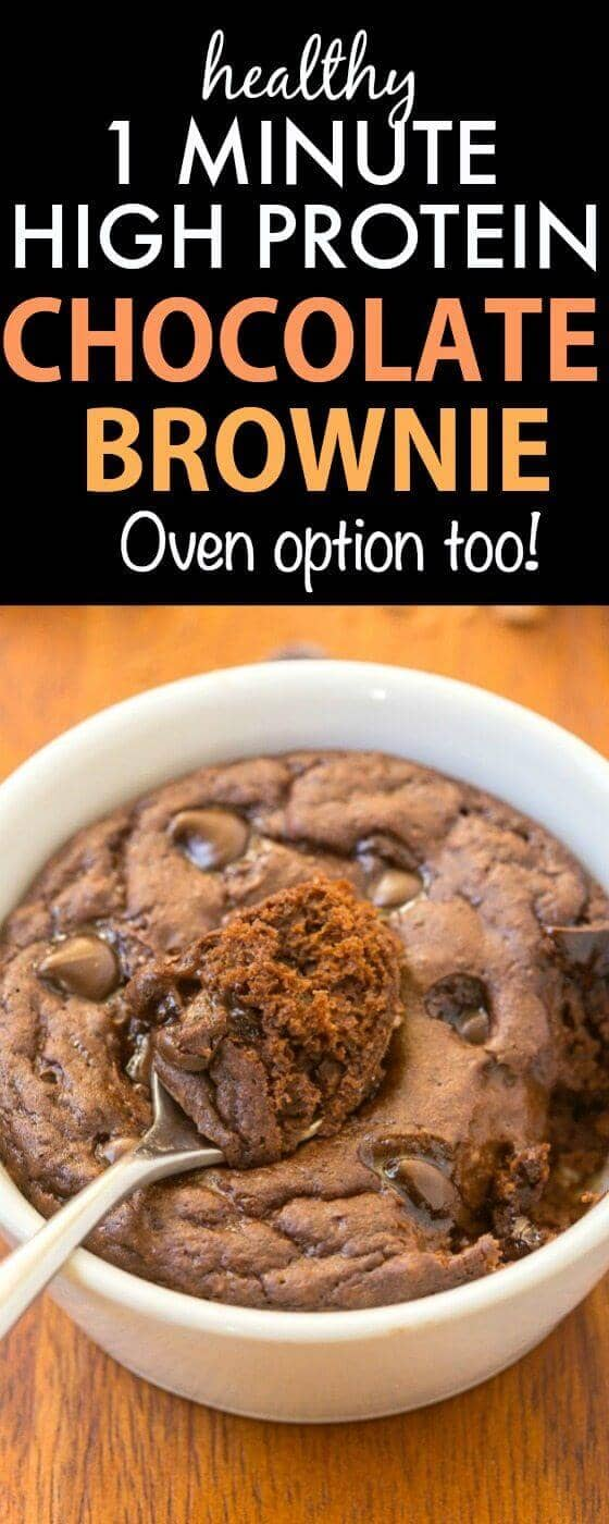 The Ultimate 1-Minutes Protein Brownie
