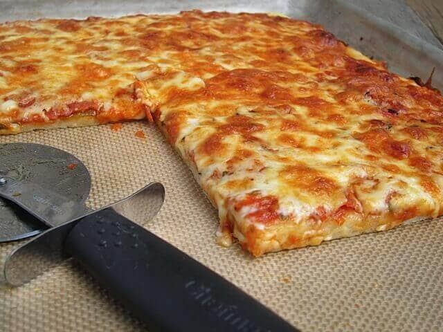 Sicilian-Style Gluten–Free Pizza