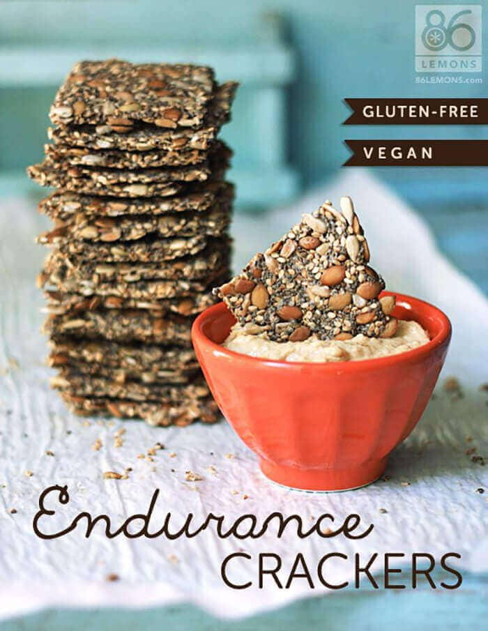 Endurance Crackers – Vegan and Gluten-free