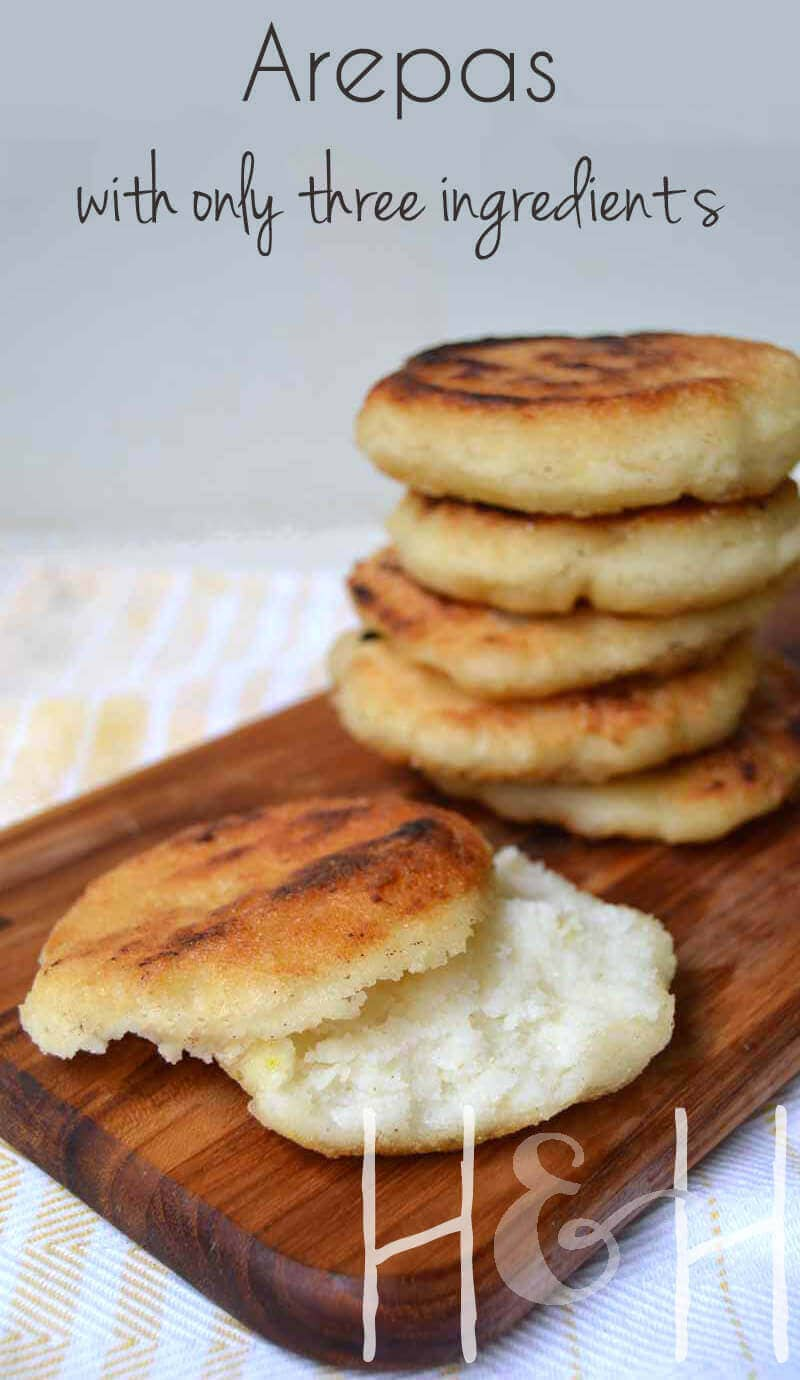 Homemade Arepas