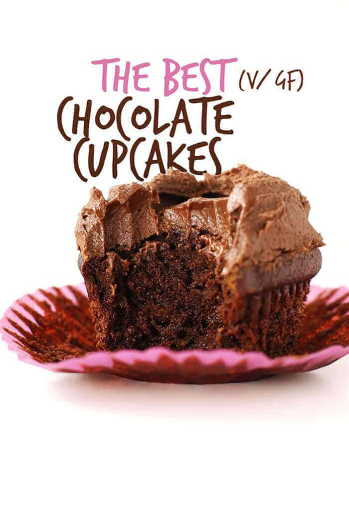 The Best Vegan Gluten-Free Chocolate Cupcakes