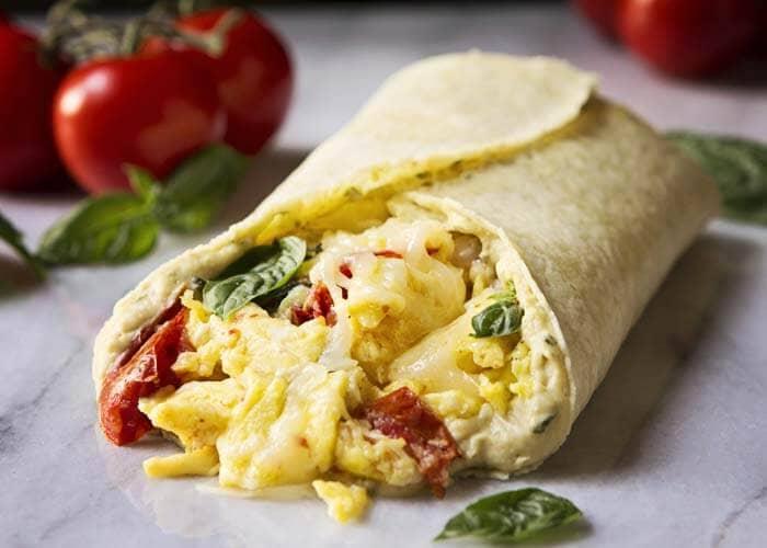 Gluten-free Tuscan Breakfast Wrap