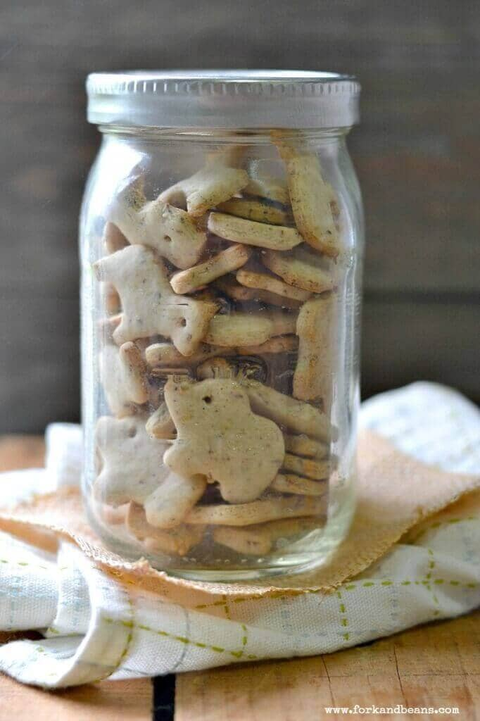 Homemade Gluten-Free Vegan Animal Crackers