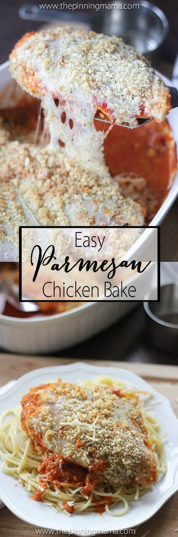 Easy Chicken Parmesan Bake Recipe