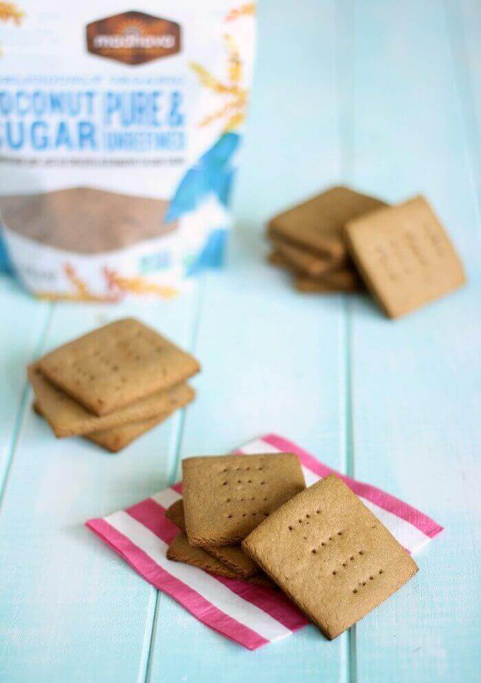 Healthy Homemade Graham Crackers