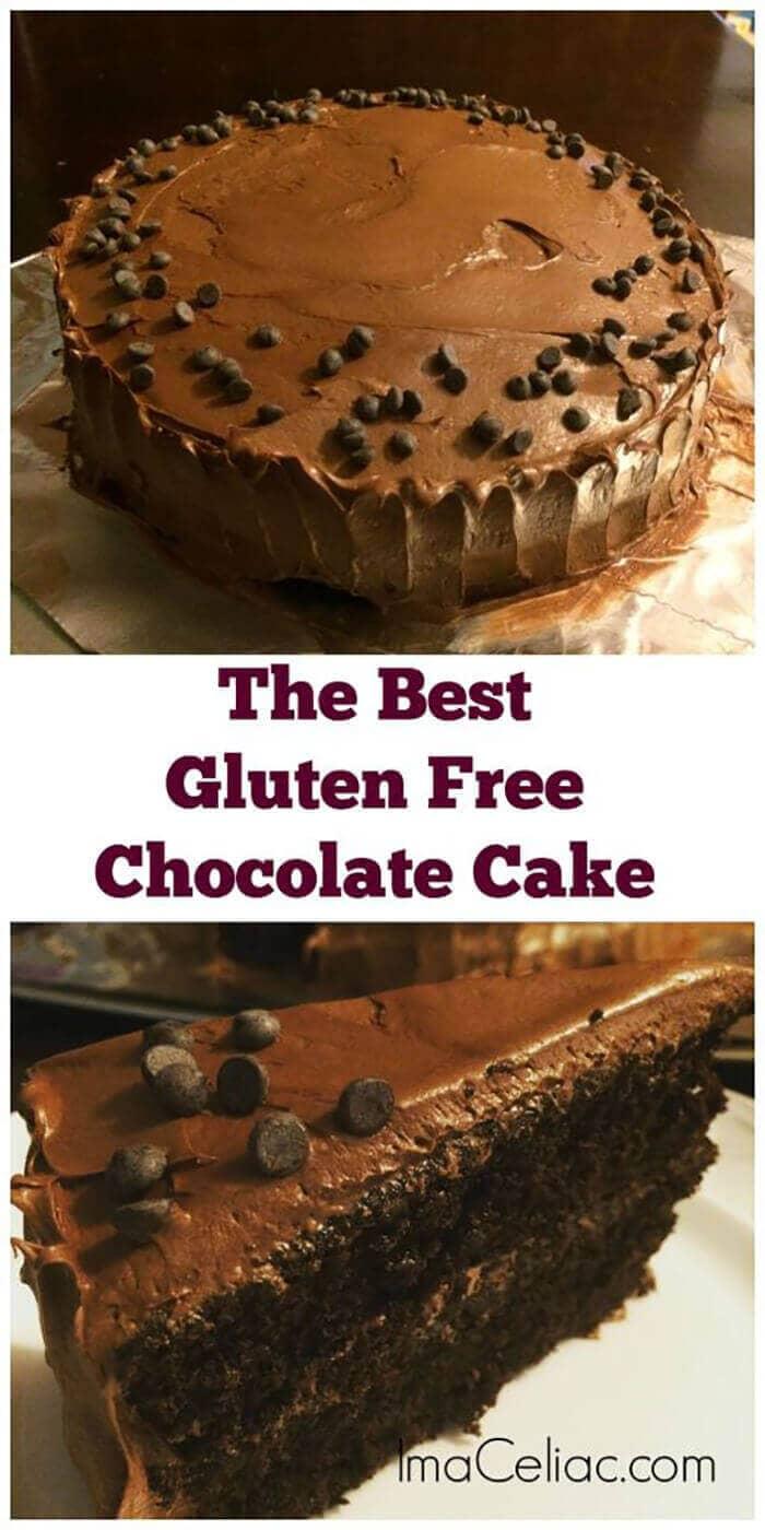 Best Homemade Gluten-Free Chocolate Cake