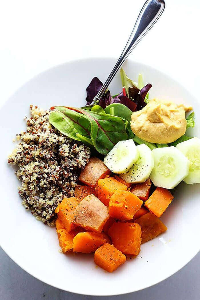 Clean Healthy Buddha Bowl