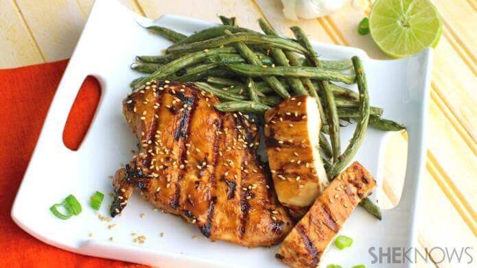 Hoisin-glazed Chicken